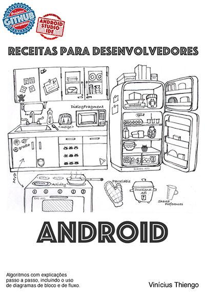 Capa do livro Receitas Para Desenvolvedores Android
