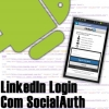 LinkedIn Login com SocialAuth Library no Android