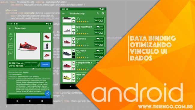 Data Binding Para Vinculo de Dados na UI Android