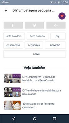 Artigo - download molde, compartilhamento de conteúdo, lista de tags e artigos recomendados