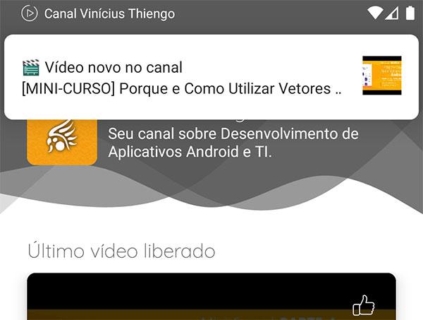 Problema de notificação abrindo em bandeja mesmo com o app Android aberto