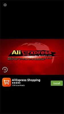 Anúncio Android Full Screen do Appnext