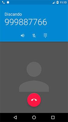 Abrindo o aplicativo Android de telefonema por meio de uma Intent Anko