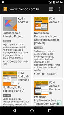 Abrindo um site a partir de uma Intent Android