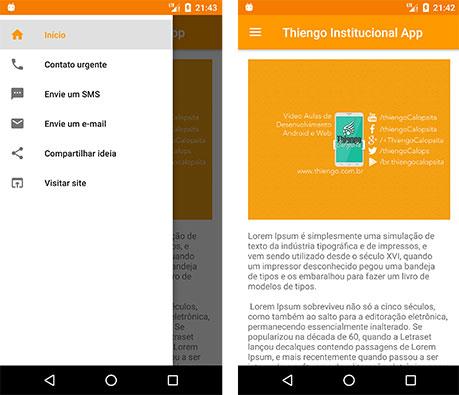 Aplicativo Android sem a biblioteca Anko