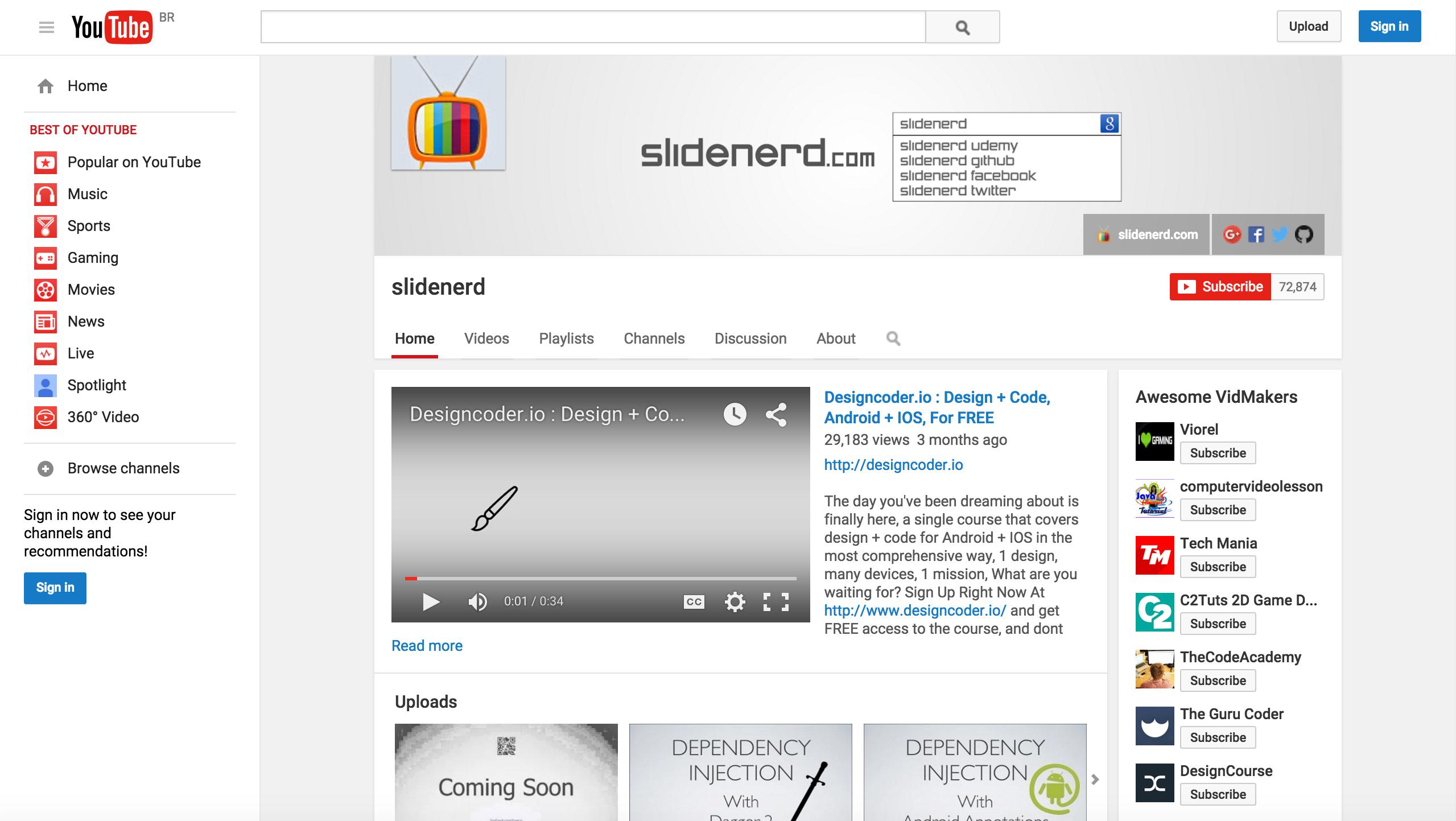 SlideNerd (canal YouTube)