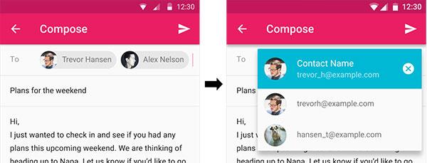 Chip de contato acionado - apresentação de menu