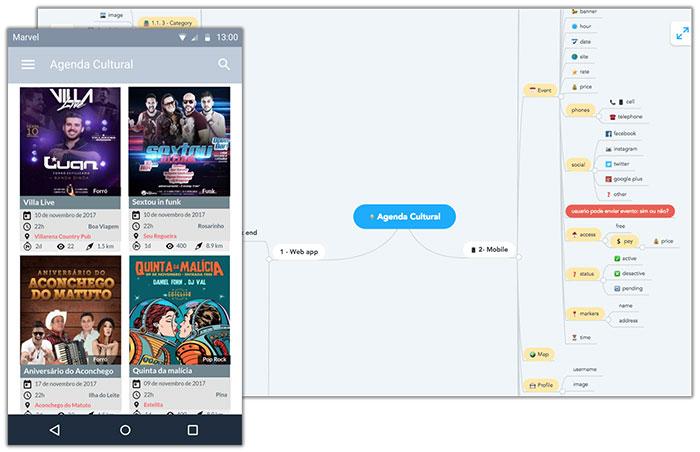 Aplicativo Android Agenda Cultural