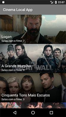 Aplicativo Android de sinopse de filmes em cartaz