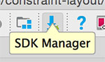 Ícone Android Studio do SDK Manager