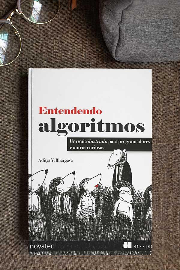 Capa do livro Entendendo Algoritmos