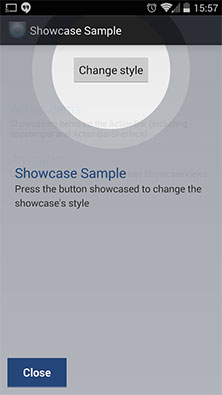 ShowCase API no Android