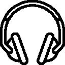 Ícone de head phone