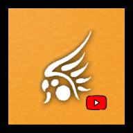 Ícone retangular de abertura de aplicativo