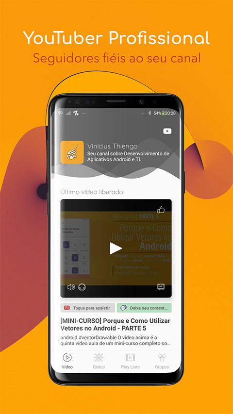 Banner do aplicativo Android que será construído