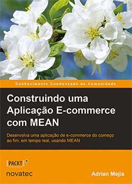 Capa do livro Construindo uma Aplicação E-commerce com MEAN