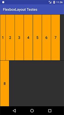 FlexboxLayout item com o atributo layout_maxWidth