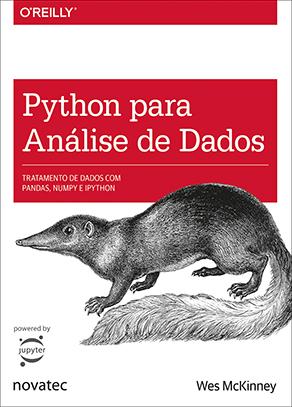 Capa do livro Python Para Análise de Dados