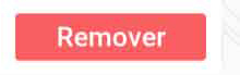 Botão Remover de itens de lista