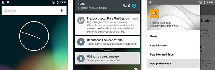 Notificação FCM sendo entregue ao app Android de blog