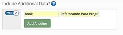 Incluindo dados adicionais na notificação - Dashboard OneSignal