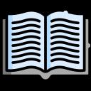 Ícone vetorial do livro Receitas Para Desenvolvedores Android