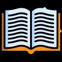 Ícone vetorial dos livros gratuitos aos inscritos do Blog
