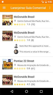 Atividade principal de um aplicativo Android de exemplo