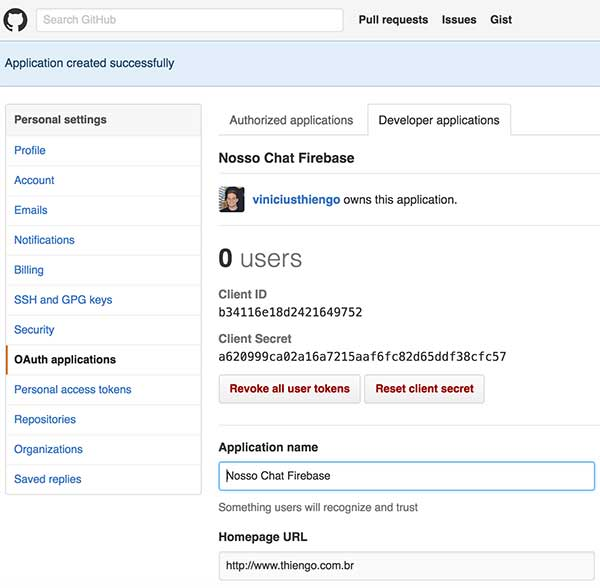 GitHub Login, Firebase Android - Parte 9