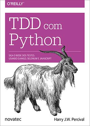 Capa do livro TDD com Python