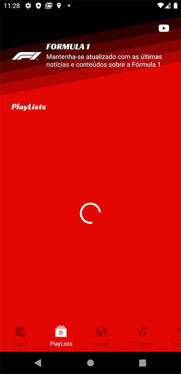 Carregando PlayLists (abertura de tela)