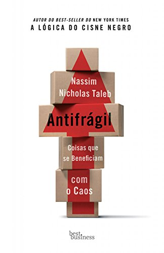 Capa livro Antifrágil