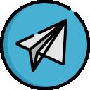 Ícone vetorial do item Grupo Telegram da área de Grupos do app